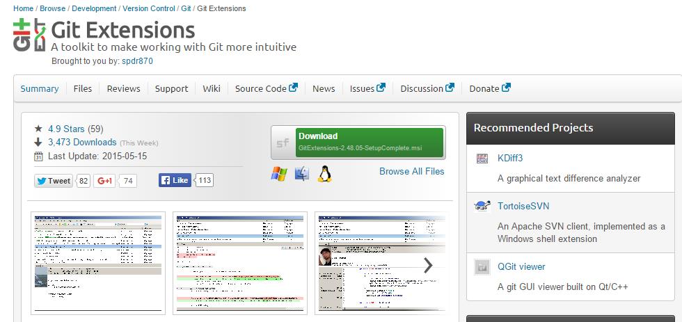 GitVCS - Web Tutor