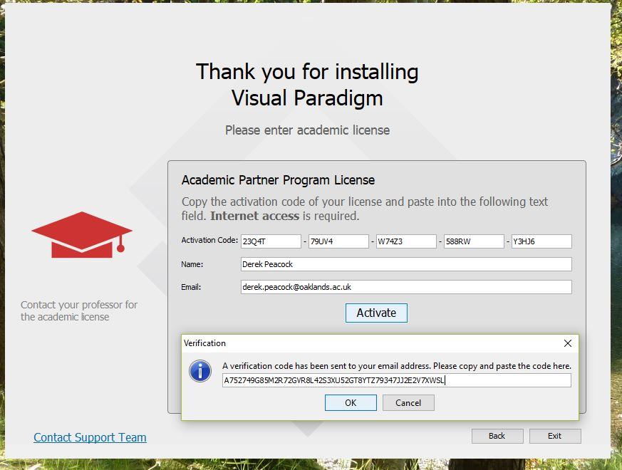 license key for visual paradigm for uml enterprise edition